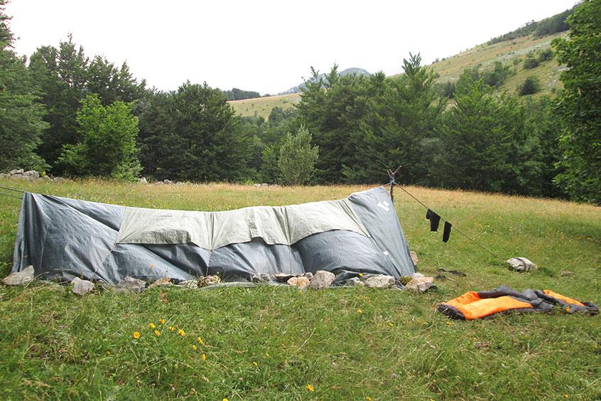 Bivak - šator