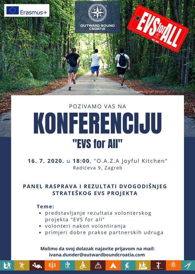 """Konferencija """"EVS for All"""", 16. 7. 2020."""