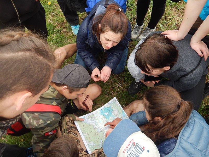 OBC aktivnosti u prirodi - navigiranje kartom