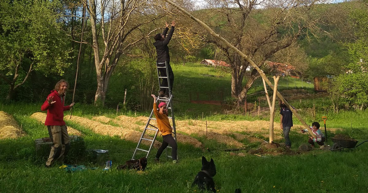 Evina godina na Erasmus+ volontiranju: iskustvo življenja u Slovačkom eko selu